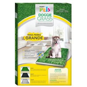 Tapete Entrenador Doggie Grass Grande