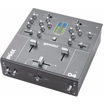 Mixer Gemini Pmx-04 2-channel Tabletop Mixer Viinil Phono