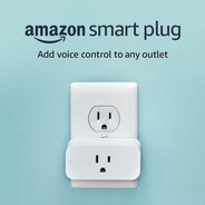 Tomada Inteligente Smart Plug Amazon - Compativel Com Echo Dot Amazon 3ª Echo Spot - Echo Plus - Echo Show - Echo Sub