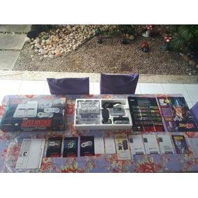 Super Nintendo Playtronic Set Smw Completo