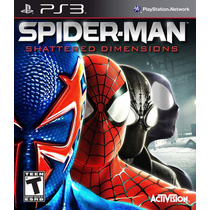 Spiderman Shattered Dimensions Ps3