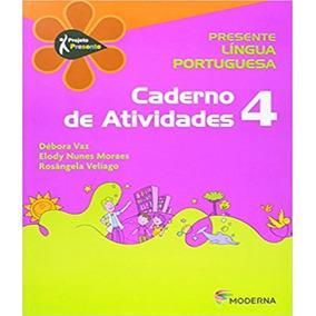 Projeto Presente - Lingua Portuguesa - Caderno De Atividade