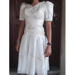 Vestido De Ceremonia Corto Seminuevo Excelente Estado