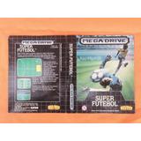 Encarte Super Futebol Original - Sega Genesis -1989 Tec Toy