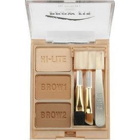 Sombra Para Sobrancelha Brow Fix Kit 02 Médium Milani