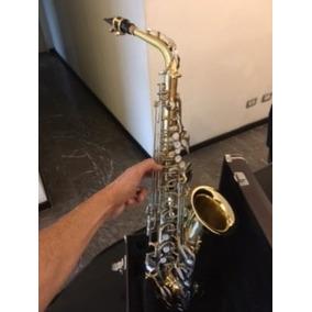 Saxo Alto Yamaha Yas-23 Dorado Y Plata-japón