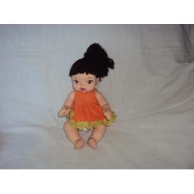 Boneca Baby Branca De Neve Princesa Cotiplas Tamanho 30cm