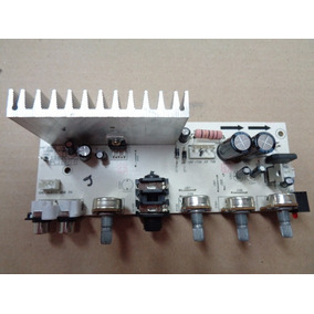 Placa De Potencia Amplificador Da Caixa De Som Frahm Mf250