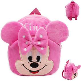 Mochila Peluche Minnie Pink Bebés Niños Pequeños Mimi Rosita