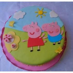 Torta Decorada Pepa Pig