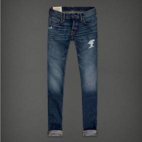 Calça Jeans Skinny Abercrombie Masculina