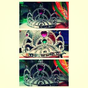 12 Coronas De Princesa Coronita Cotillon Promocion