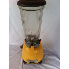 Liquidificador Arno Vidro Antigo 110w Funcionando Amarelo