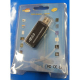 Leitor Usb Ms Pro Duo P/ Memory Stick Sony Duo