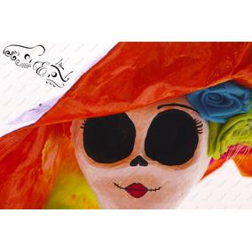 Catrinas Artesanales Paquete 2 Catrina Dia De Muertos