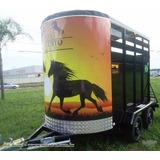 Projeto Carretinha Reboque Para 2 Cavalos + 3 Brindes