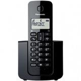 Telefone Sem Fio Kx-tgb110lbb Panasonic Preto 12x Sem Juros