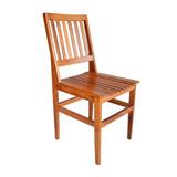 Cadeira De Madeira Maciça De Demolição Cambury