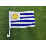 Bandera Banderin Para Auto Uruguay Nacional Y Peñarol