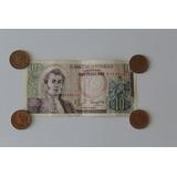 Billete 10 Pesos Colombianos 1980
