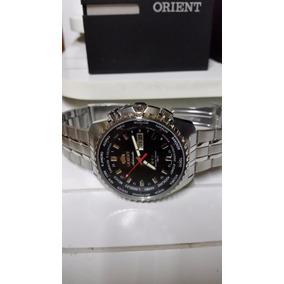 Relogio Orient Automatico Linha Retro World Time 469ss057