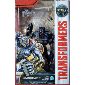 Transformers 5 The Last Knight Barricade Deluxe Premier 2017