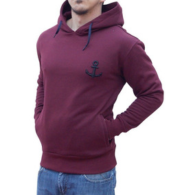 Sudadera John Leopard Big Logo Vino (burgundy) Relaxed Fit