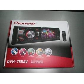 Estereo Con Pantalla Pioneer Dvh 785av 3 Pulgadas Dvd Plata