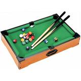 Juguete Mini Billar Pool Juegos De Mesa Billares