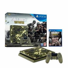 Playstation 4 1tb Slim + Call Of Duty Wwii Oferta!