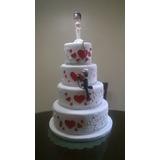 Venta De Torta Maqueta Para Matrimonio