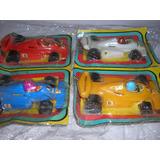 Lote De 4 Autos Formula 2