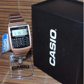 26411dd8a91 Relógio Casio Data Bank - Modelo Ca-506c-5adf (nf garantia)