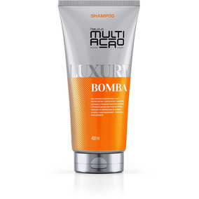 Shampoo Helcla Multiacao Luxury Bomba 400ml