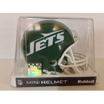 Casco Nfl Mini Helmets Riddell Throwback Jets Nueva York