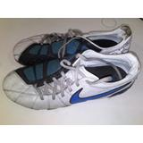 Zapatos De Futbol Nike Total 90 Blancos. Talla 42