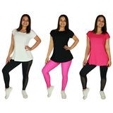 Blusa Marcela Fitness Moda Feminina Atacado Ótimo Preço