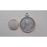 Medalla De Plata Virgen Maria Bahia Blanca Graba C.yaf.rossi