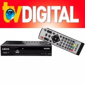 Conversor De Tv Digital Mox Rd 3005 Bivolt