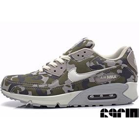 zapatillas air max camufladas