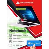 Notebook Intel 14 Cloudbook $3200