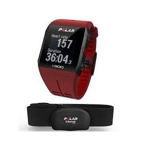 Reloj Polar V800 Rojo Para Triatlon Con Metricas De Natacion