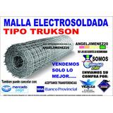 Malla Electro Soldada Tipo Truckson Para Placas Y Pisos