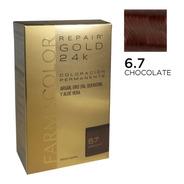Farmacolor R Gold Chocolate N° 6.7 X Un Estuches. Defábrica.