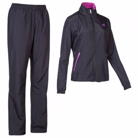 Conjunto Campera Pantalon Topper Basico New Mujer Trainning