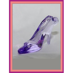 Zapato Souvenir Cristal - Colores A Eleccion - Hoy Oferta!