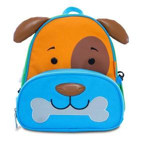 Kit Mochila + Lancheira Infantil Lets Go! Cachorro - Comtac