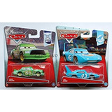Juguete Disney Cars 2015 Rey Y Chick Hicks! 2 Paquetes Indi