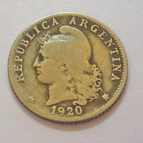 Monedas República Argentina - 10 Y 20 Centavos - Año 1920/22
