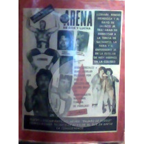 Revista De Lucha Libre Arena De Box Y Lucha,lizmark.1983!!